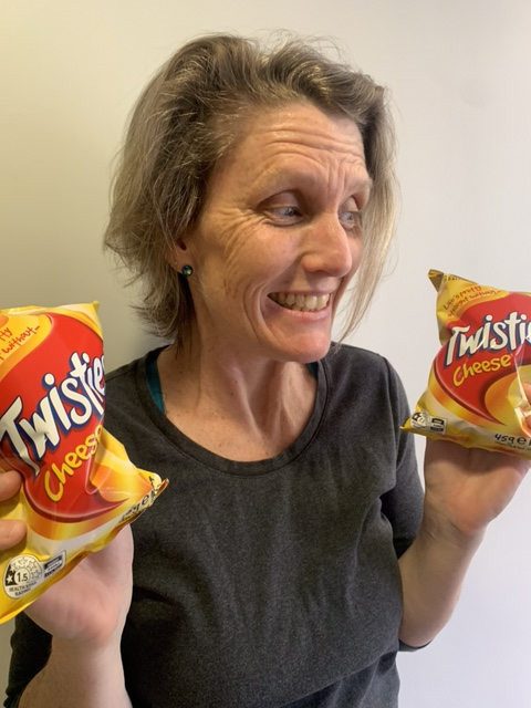 woman with Twisties